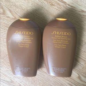 Shiseido tanning lotion